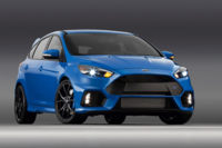 El Ford Focus RS 2015 se viste de azulito para su debut en Nueva York