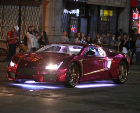 Por primera vez vemos al Jokermobile
