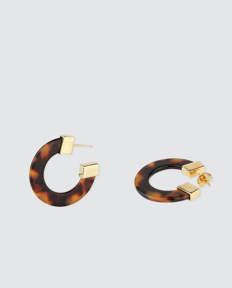 Pendientes de aro Vidal & Vidal carey