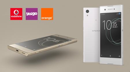 Precios Sony Xperia XA1: comparativa pago a plazos con Vodafone, Orange  y Yoigo