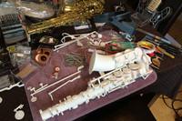 Una nueva creación de la impresión 3D: un saxofón