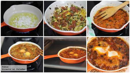 Huevos a la jardinera receta de aprovechamiento for Cocinando 1000 huevos