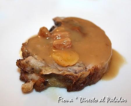 Filetitos de jamón de cordero braseados al estilo andalusí