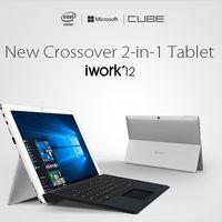 Tablet Cube iWork12, con pantalla de 12,2 pulgadas, Windows 10 y teclado, por 181 euros