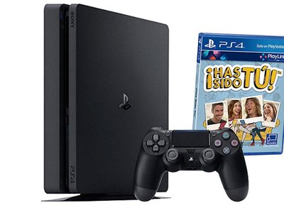 La PS4 Slim de 500 GB con Has Sido Tú, en eBay te sale por 269 euros