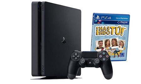 La PS4 Slim de 500 GB con Has Sido Tú, en eBay te sale por 269 euros