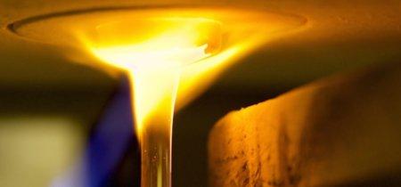 La hipnótica impresión 3D usando cristal fundido a 1000 ºC