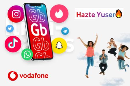 Las nuevas tarifas de Vodafone yu con datos ilimitados en redes sociales, ahora también disponibles en prepago