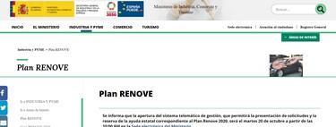 Plan Renove 2020: cómo solicitar las ayudas de hasta 4.000 euros para cambiar de coche