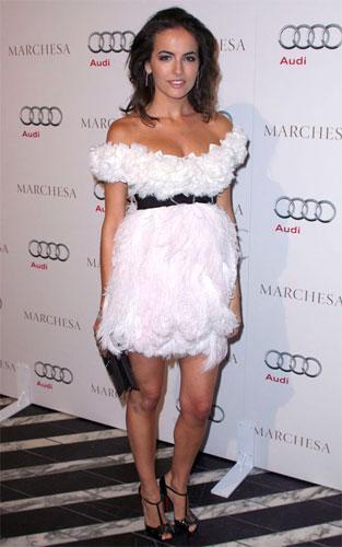 Camille Belle en la fiesta de Audi previa a los Oscar's 2010