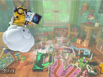 Mario Kart 8: un fan libera la cámara y nos lleva de tour por los gigantescos escenarios que hay más allá de cada pista