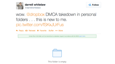 Así sabe Dropbox cuándo estás compartiendo archivos con copyright