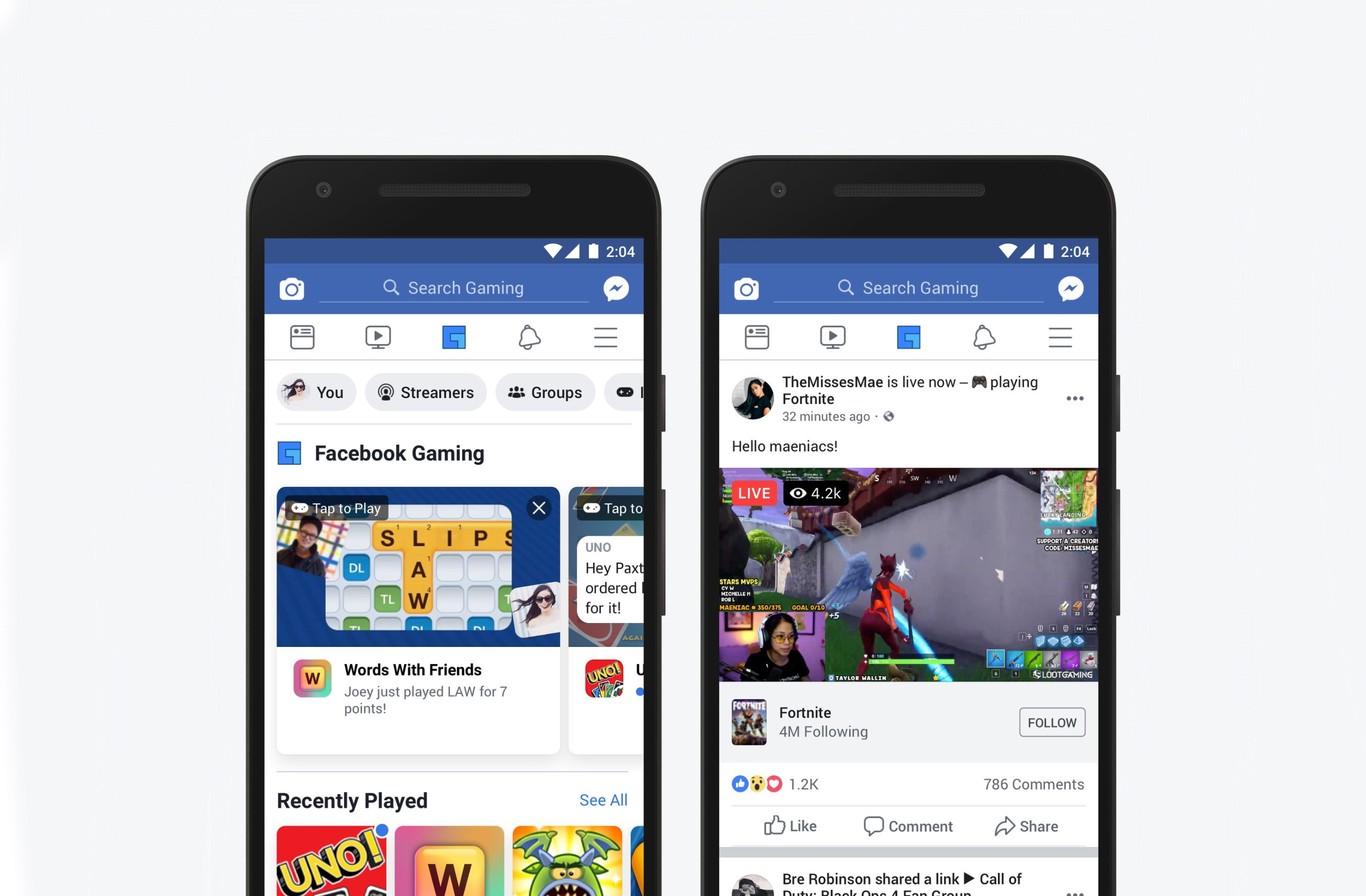 Aplicacion Juegos Porno Movil facebook tiene una nueva app para gaming con la que competir