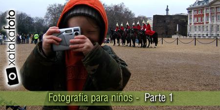 Consejos de fotografía para niños
