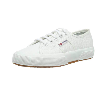 Superga Blanca Plataforma amazon