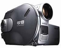 Cámara digital de Samsung que graba en DVD