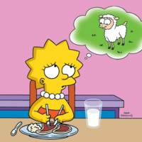Lisa Simpson y otros vegetarianos célebres