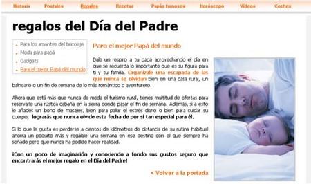 diapadre.com: ideas para celebrar el Día del Padre