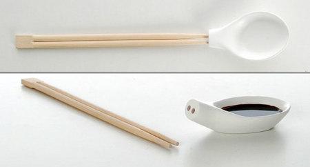 ¿Palillos o cuchara?