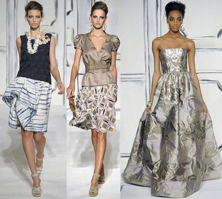 Oscar de la Renta en la Semana de la Moda de Nueva York primavera verano 2009