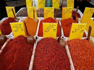 Israel: El mercado del Carmel, en Tel Aviv