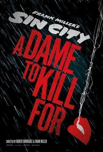 Primeros carteles de 'Sin City: A dame to kill for' y 'Machete Kills'