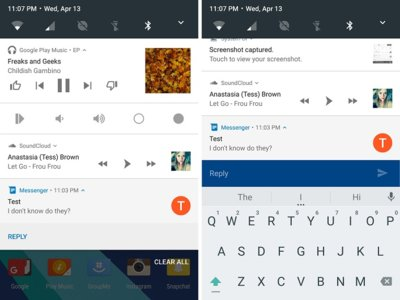 Android N preview 2: responde mensajes sin desbloquear la pantalla