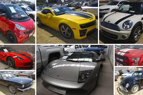 Los 82 autos que el Gobierno de México subastará en Los Pinos este domingo (hay varias gangas)