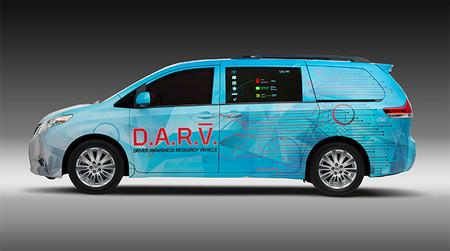 Toyota y la seguridad: DAR-V, el vehículo para reducir las distracciones