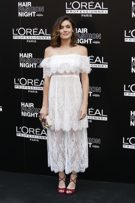 hair fashion night loreal paris madrid celebrities famosas marta nieto