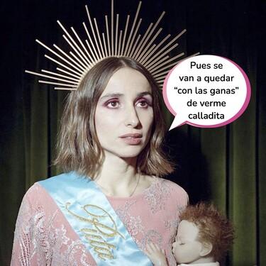"""El aplaudido (y viral) discurso de Zahara en pleno concierto tras ser censurada por el Ayuntamiento de Toledo por """"ofender a la Virgen"""""""