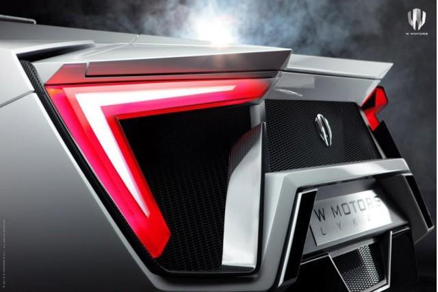 Foto de Superdeportivo de W-motors Lykan Hypersport. (7/13)