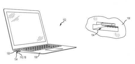 Apple patenta un sistema para combinar puertos USB y lector de tarjetas SD