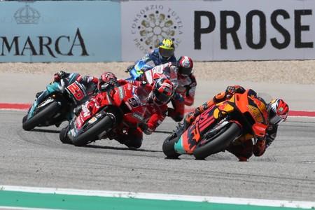 Ducati, KTM y Aprilia estarán en junio en un test privado de MotoGP en Misano, pero las marcas japonesas no podrán