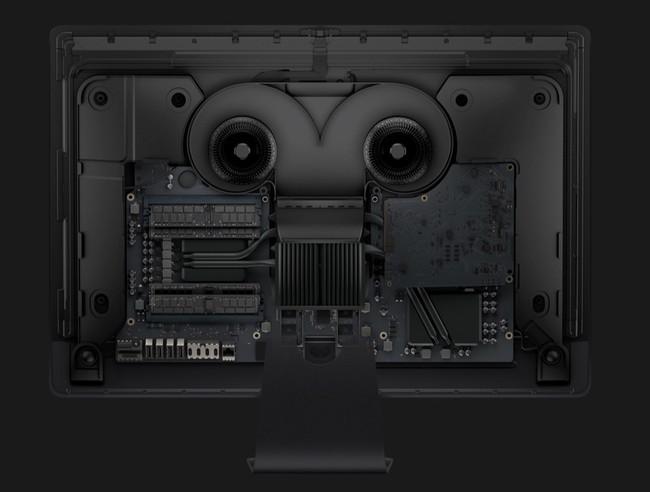 El diseño del iMac Pro por dentro. Prodigioso.