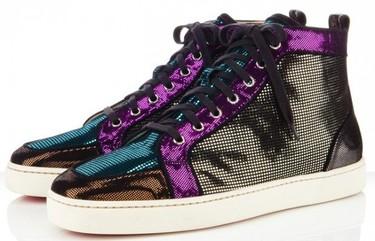 Estética disco para las nuevas zapatillas de Louboutin