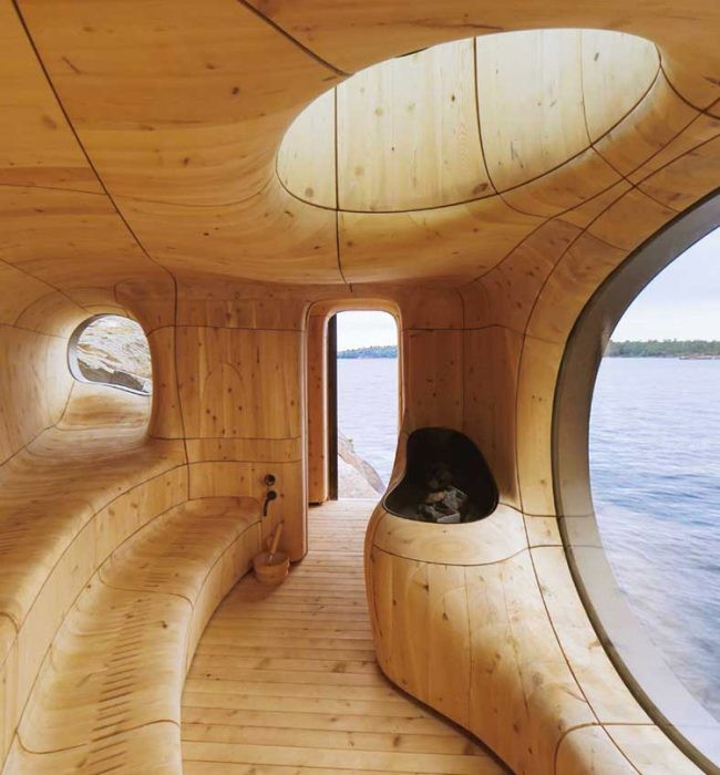 6 Grotto Sauna By Partisans Toronto
