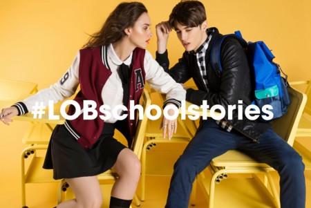 LOB lanza colección para un regreso a clases en mood retro y mucho estilo