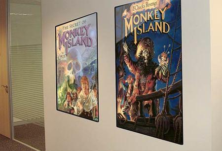 Pósters de juegos clásicos de LucasArts