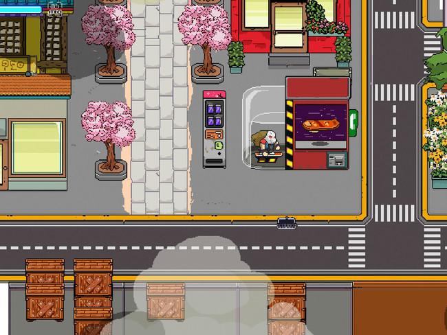 Neon City Riders, un videojuego de acción en 2D desarrollado en Veracruz, México, que buscará su meta en Kickstarter