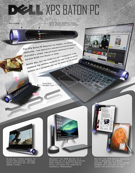 Dell XPS Baton, concepto de futuro