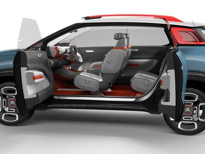 Citroën C-Aircross Concept, o cómo combinar colorido y espacio abierto en un SUV compacto muy techie
