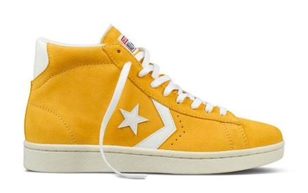 Converse Pro Leather Amarilla