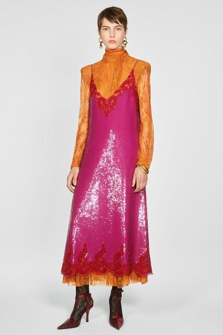 Vestido Fucsia Zara 06