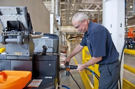 BMW utiliza maquinaria alimentada con hidrógeno en su factoría de Spartanburg