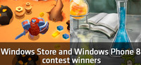 Ganadores del concurso de Unity3D para Windows Phone y Windows 8