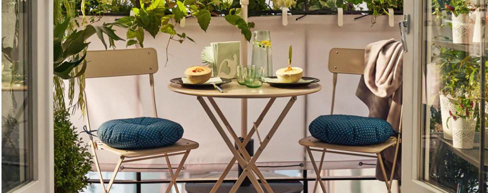 Nueve Novedades De Ikea Para Decorar Un Pequeño Balcón