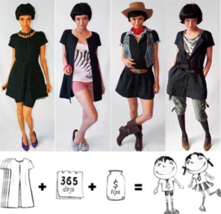 El mismo vestido para los 365 días del año