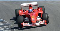 Marc Gené bate el récord de Laguna Seca con un F2003
