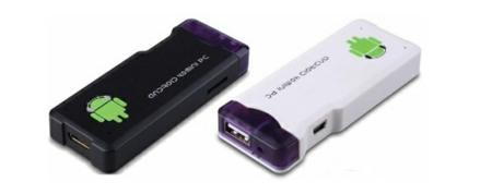 Android 4 en formato de memoria USB con el Model MK802